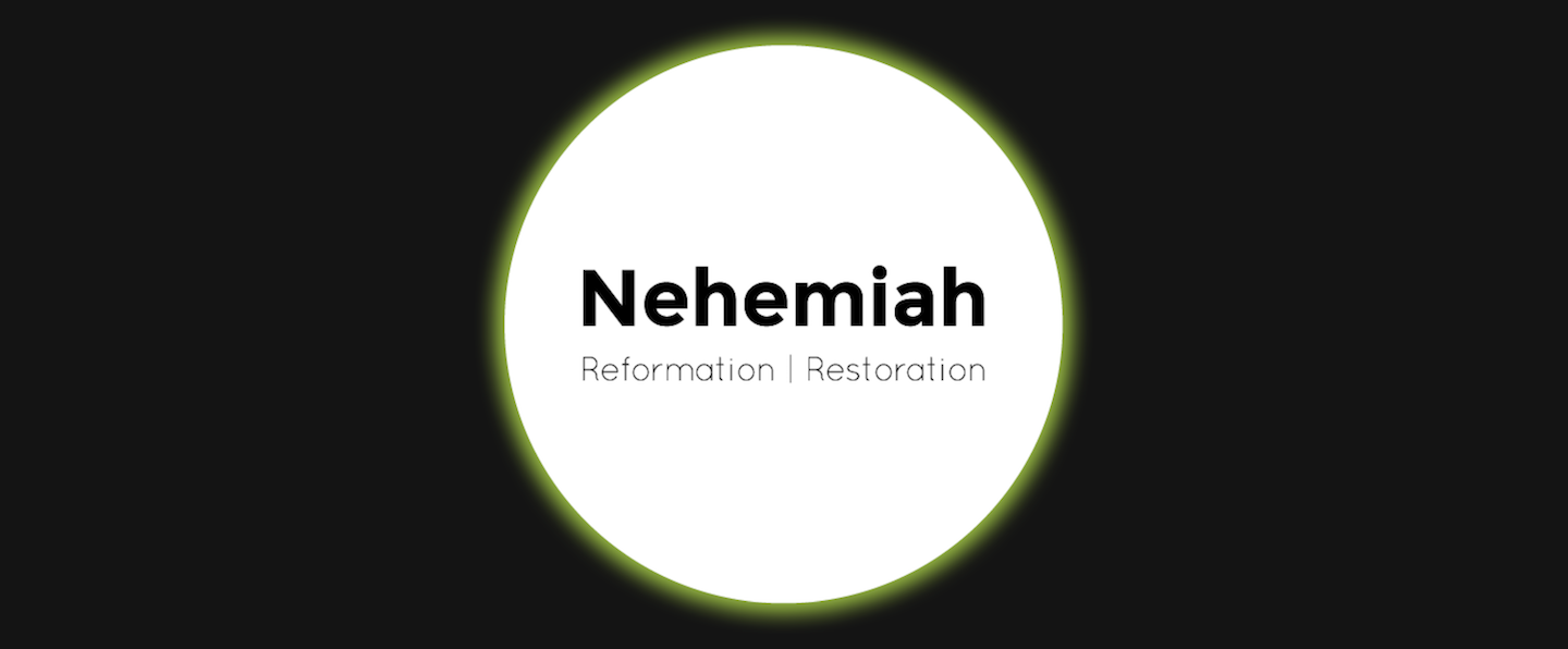 nehemiah sermon series